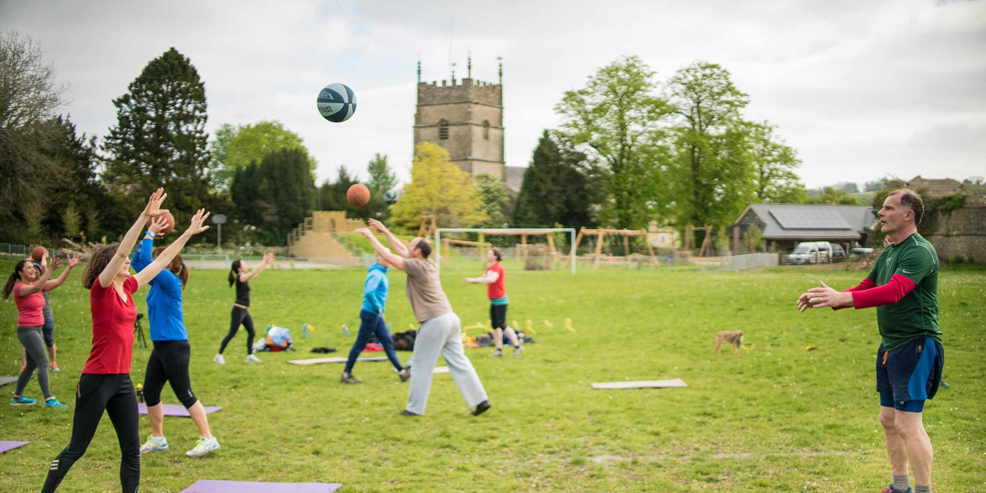 Find out more about Fresh Air Fitness sessions