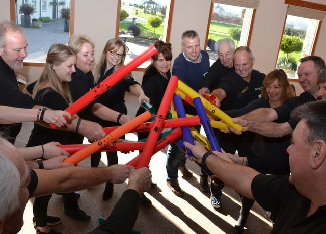 Boomwhackers team-building workshop